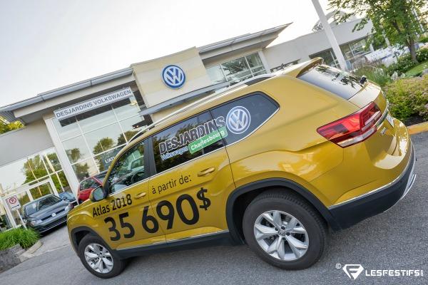 Lancement Atlas Desjardins Volkswagen