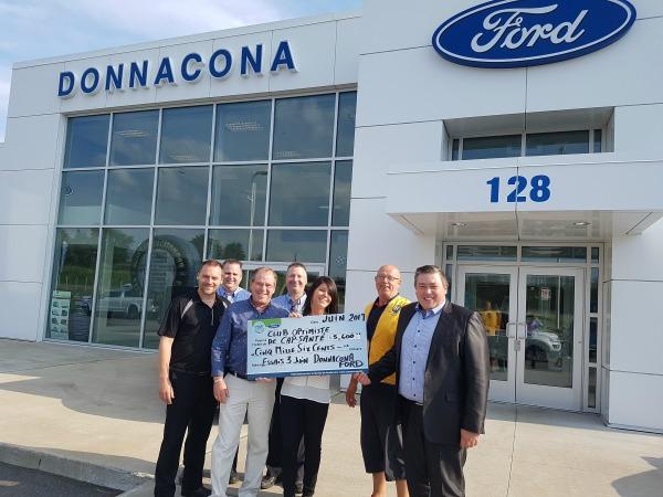 Donnacona Ford 5 600 Club Optimiste