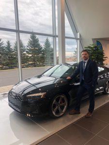 Bruno Pageau, spécialiste de la marque Audi chez Audi Lévis depuis 2016